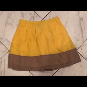 NWT- J.Crew Factory- Pleated Skirt. Size 4